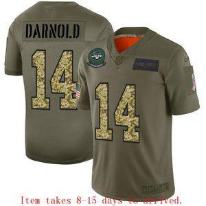 New York Jets Sam Darnold Jersey Camo